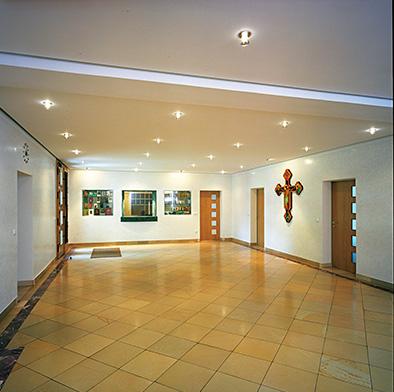 Eingangshalle mit Klosterpforte
