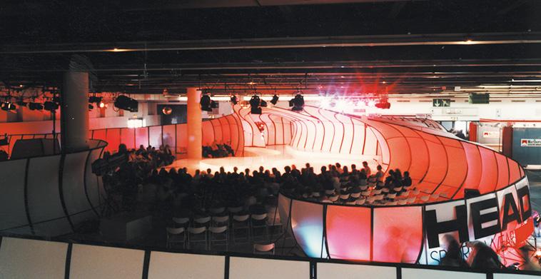 Showmessestand