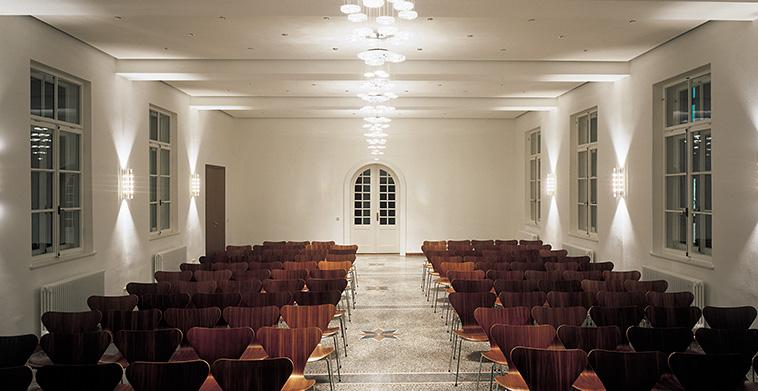 Innenarchitektur Lichtgestaltung Musiksaal