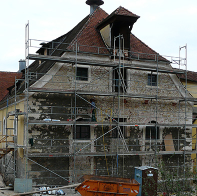 Fassadensanierung Brauereigebäude