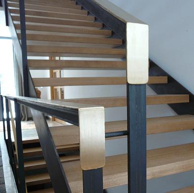 Detail Treppenhandlauf
