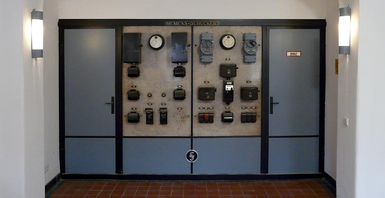 Restaurierung einer musealen Siemens Schuckert Schalttafel