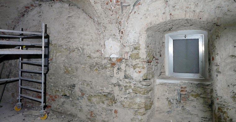 Sanierung Gewölberäume
